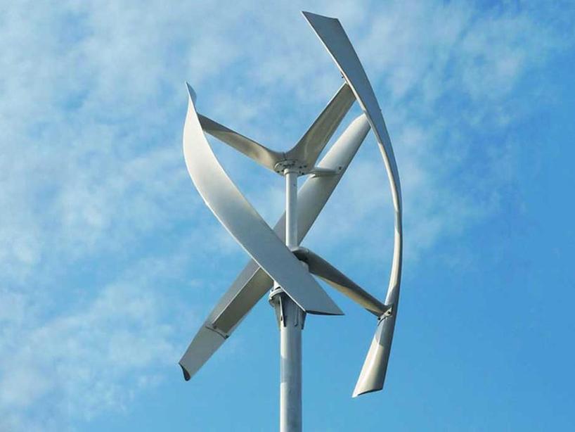 Ветряк с вертикальной осью вращения своими руками