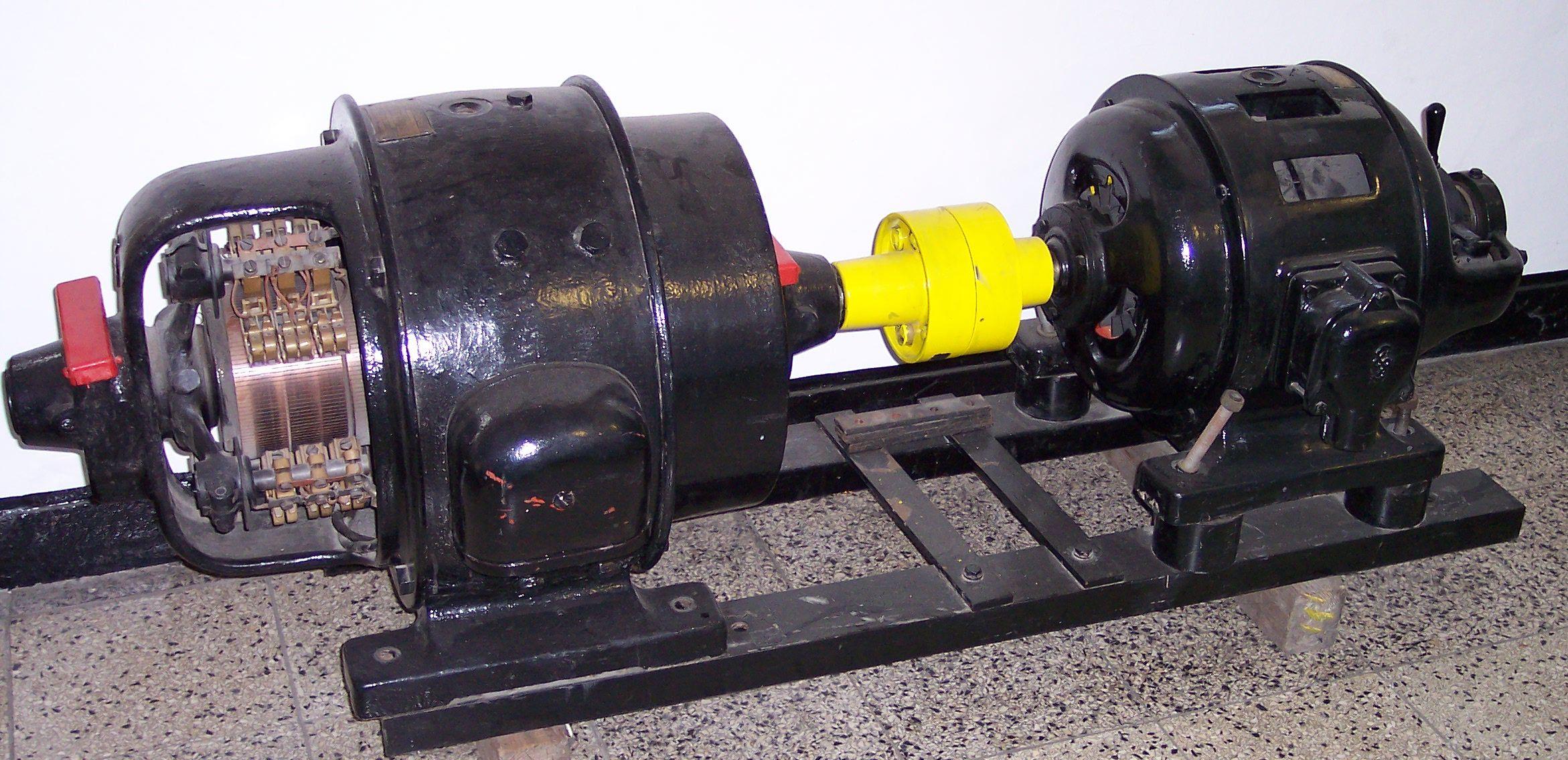 Двигатель из генератора постоянного тока своими руками