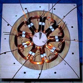 Генератор на магнитах для ветрогенератора