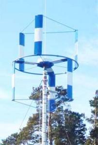 Вертикально-осевая ветротурбина